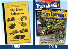1958 vs 2010 My Little Salesman Catalogs