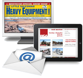 My Little Salesman newsletters and catalogs