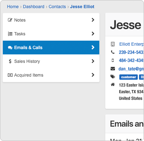 Detailed Contact Fields