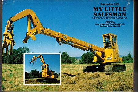 My Little Salesman Heavy Equipment Catalog - September 1978 Issue