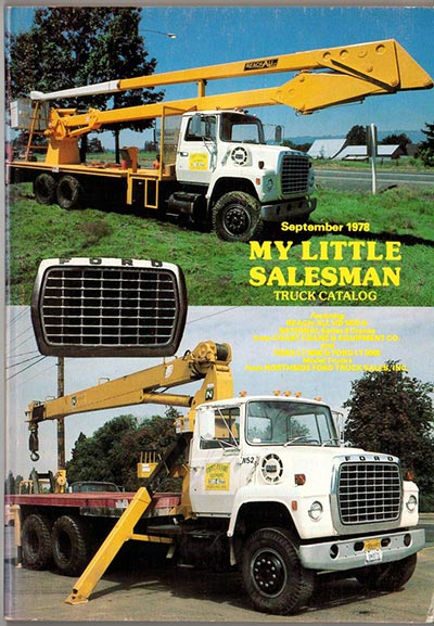 My Little Salesman Truck Catalog - September 1978 Issue