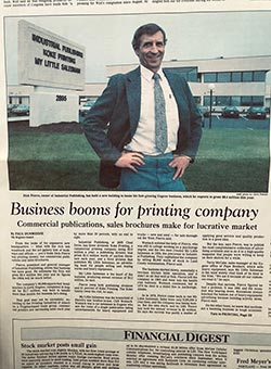 The Register Guard December 1989 - Business Booms for Printing Company