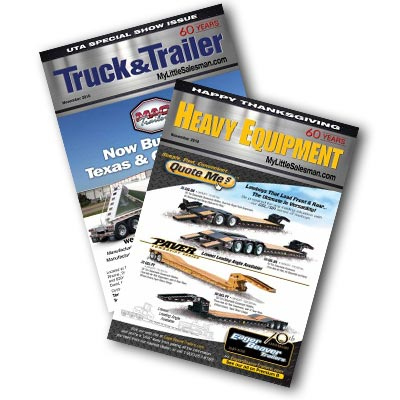 Heavy Equipment, Truck & Trailer Print Editions