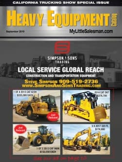 Heavy Equipment Catalog