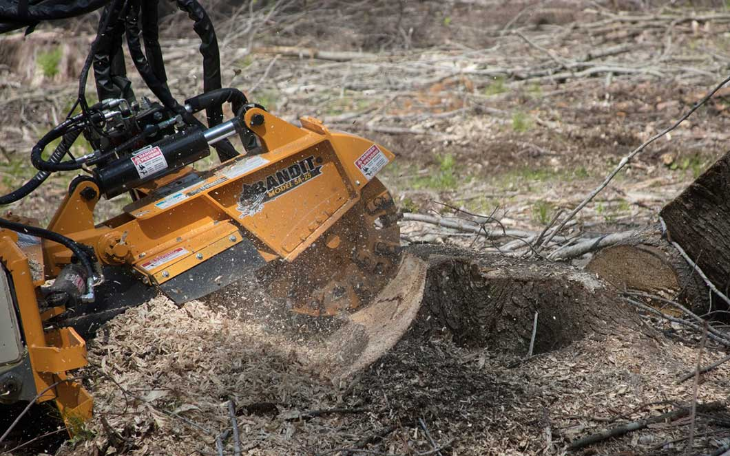 Bandit Industries SA-25 Skid Steer Stump Grinder Attachment