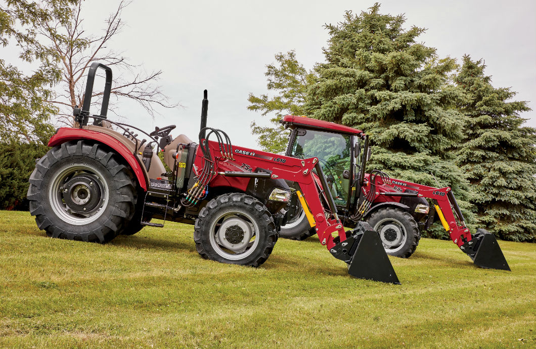 Whatever the task, producers can count on Farmall tractors for reliable, fuel-efficient horsepower and multitasking flexibility.