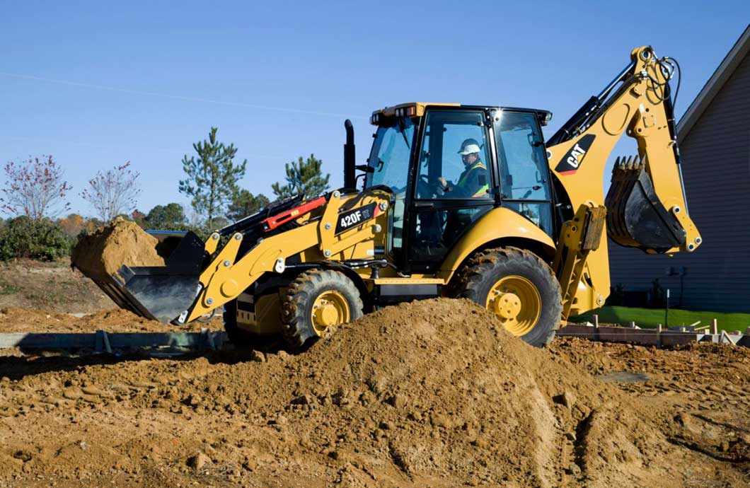 Cat 420F IT Backhoe Loader
