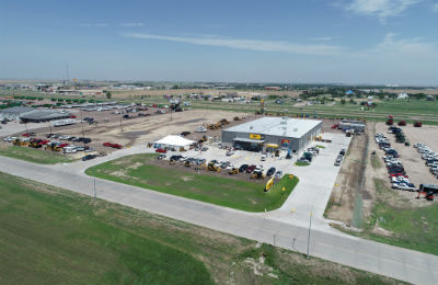 Aerial view of new Foley Equipment facility