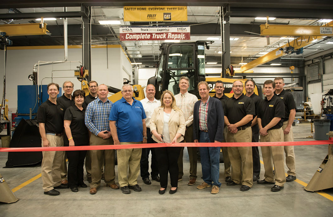 Staff of New Foley Equipment Facility
