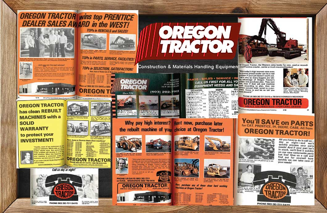 Oregon Tractor & Equipment and My Little Salesman