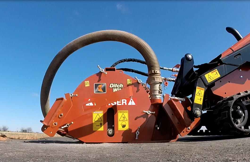 Ditch Witch MT9 Microtrencher Attachment