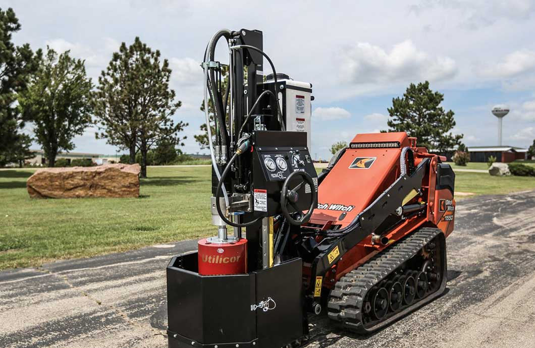 Ditch Witch Utilicor MTC100 Coring Attachment