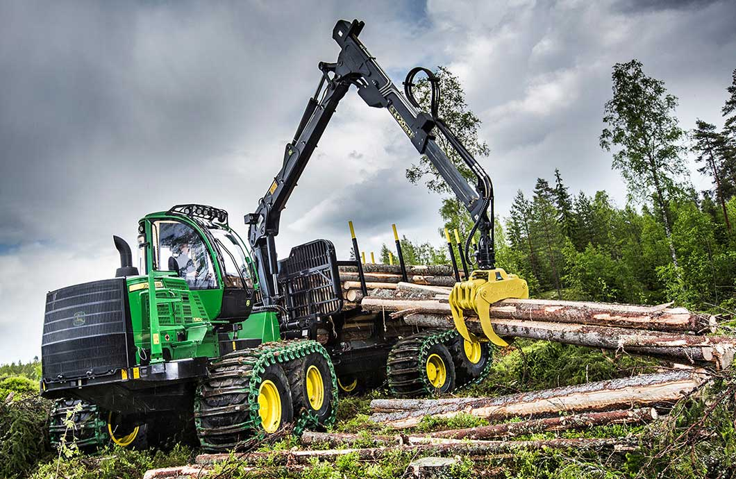 John Deere 1910G Forwarder Logging Equipment