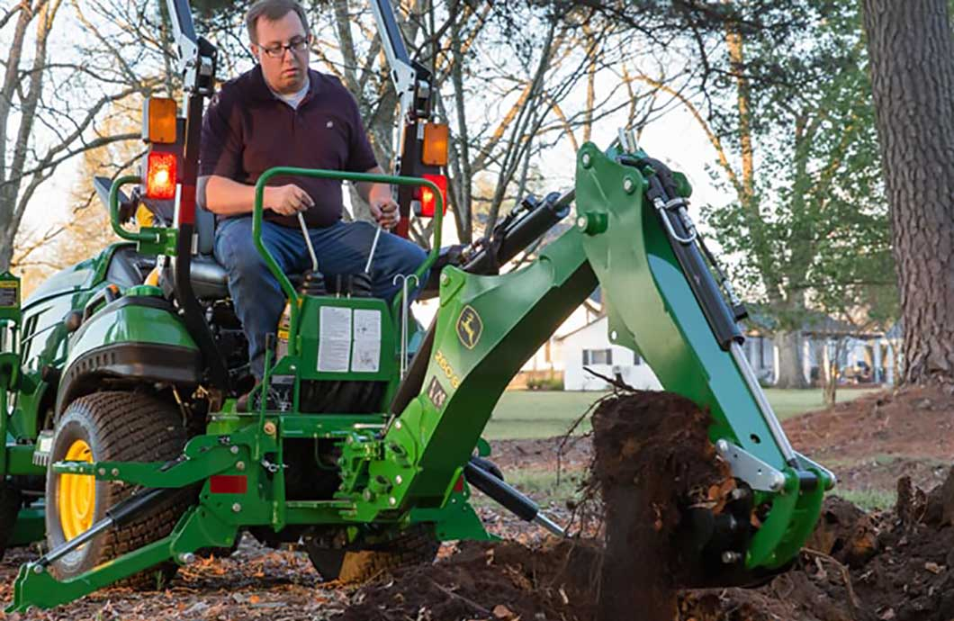 Tractor Implements And Attachments : New backhoe and loader attachments available for john