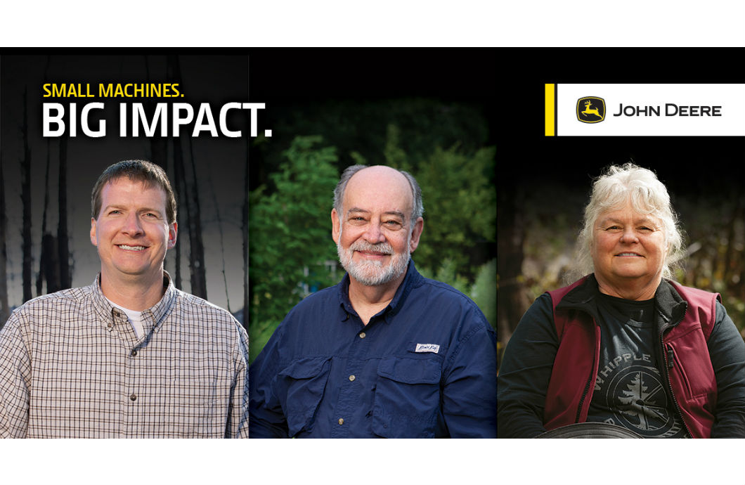 "John Deere ""Small Machines. Big Impact"" finalists"
