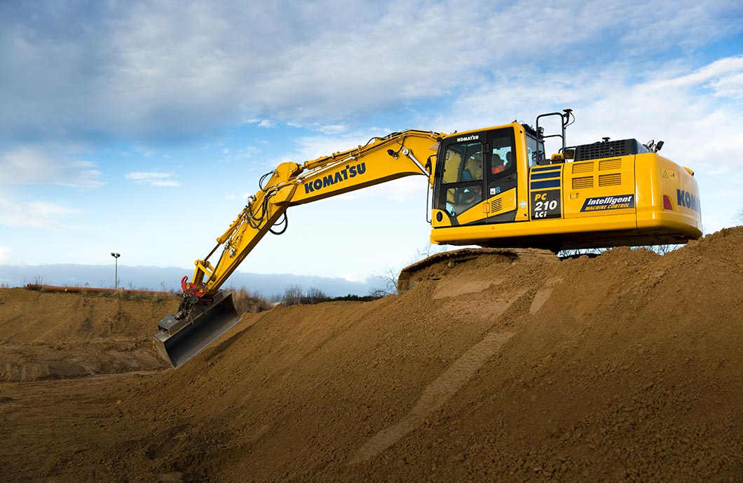 Komatsu PC210LCi-11 Intelligent Machine Control Excavator