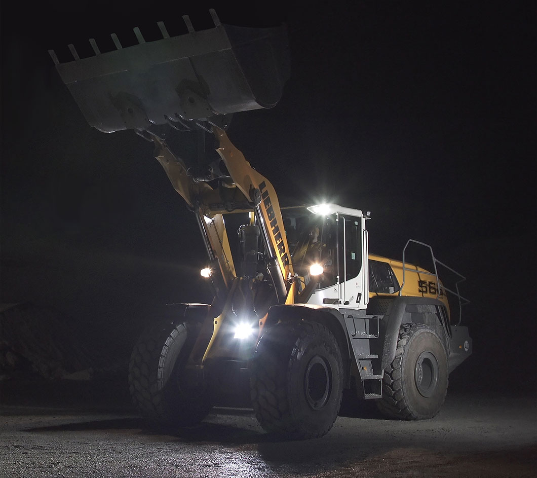 Liebherr Adaptive Working Lighting