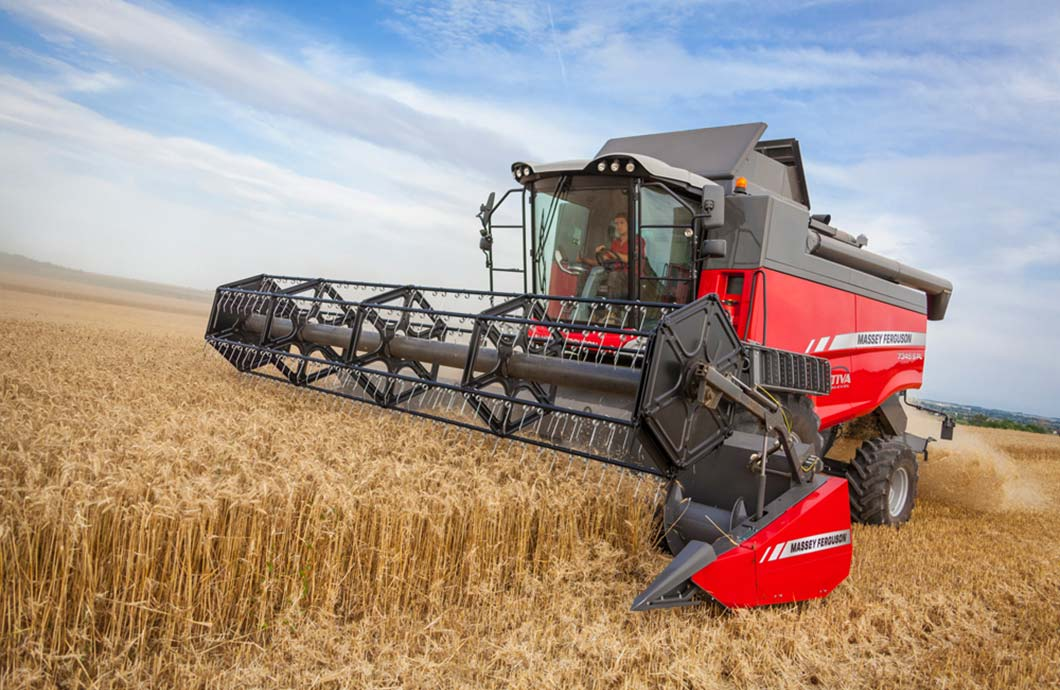 Massey Ferguson Adds ParaLevel to Activa S Combines