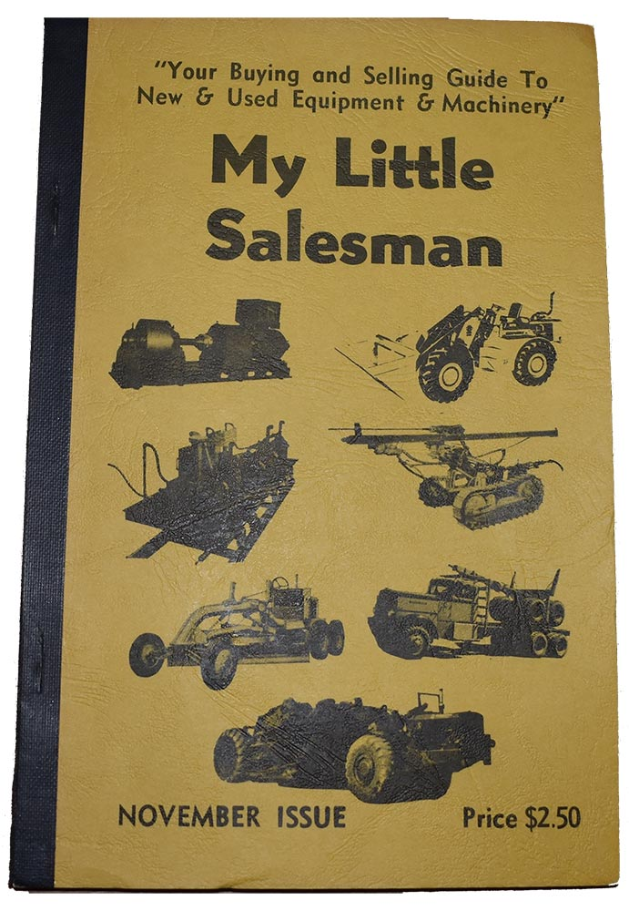 My Little Salesman's First Publication Issue in November 1958
