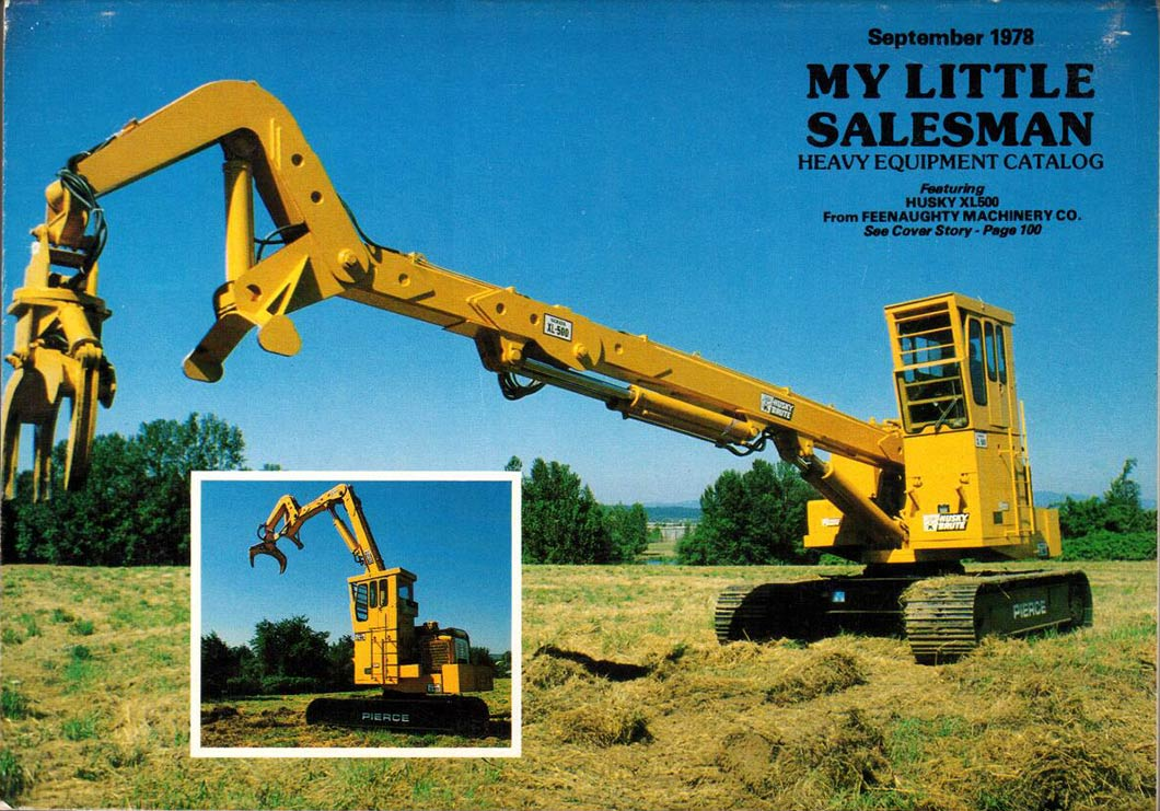 My Little Salesman Heavy Equipment Catalog September 1978