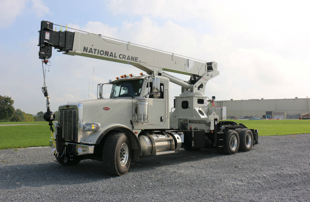 National Crane tractor mounted NBT30H boom truck