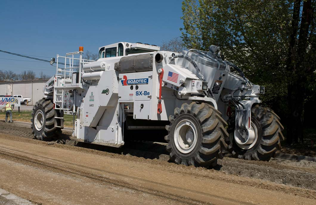 Roadtec SX-8 Soil Stabilizer-Reclaimer