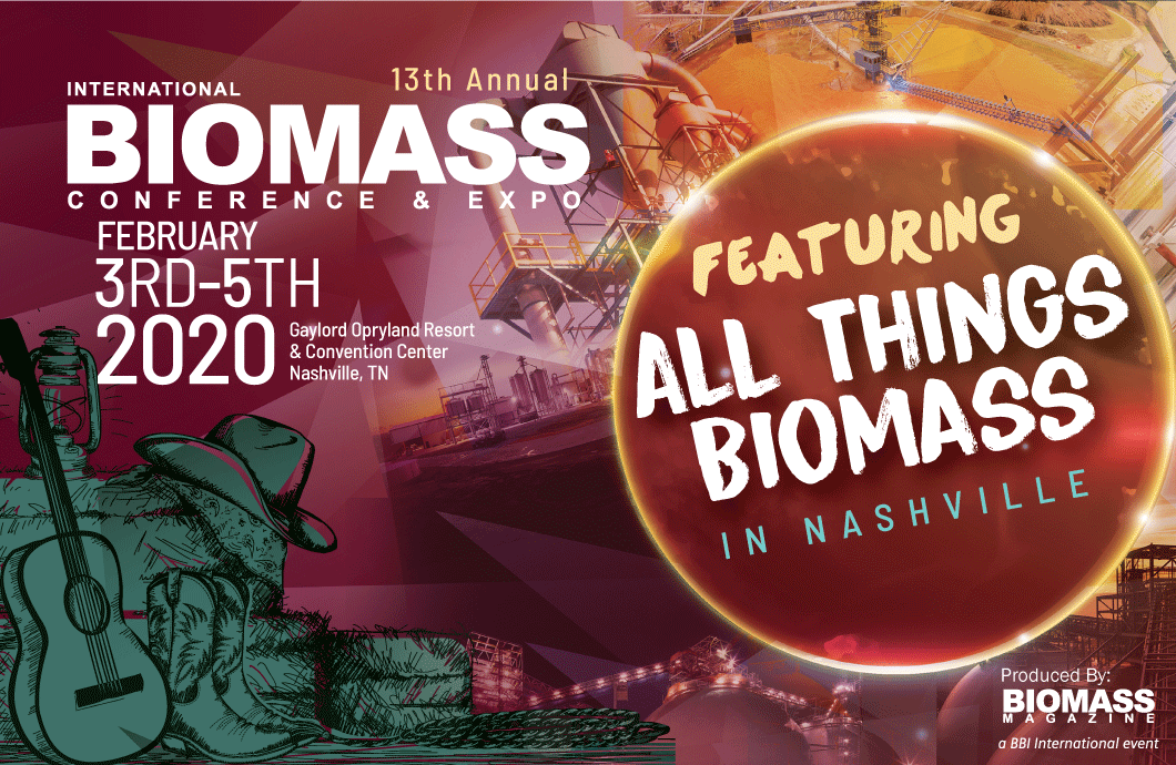 13th annual Biomass Conference & Expo