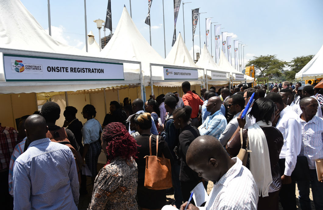 National Construction Week crowd at Kenya