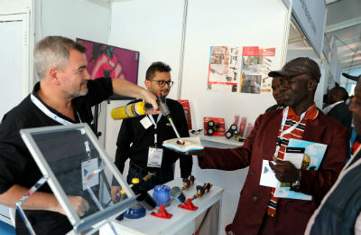 Interactive experiences at the Big 5 Eat Africa