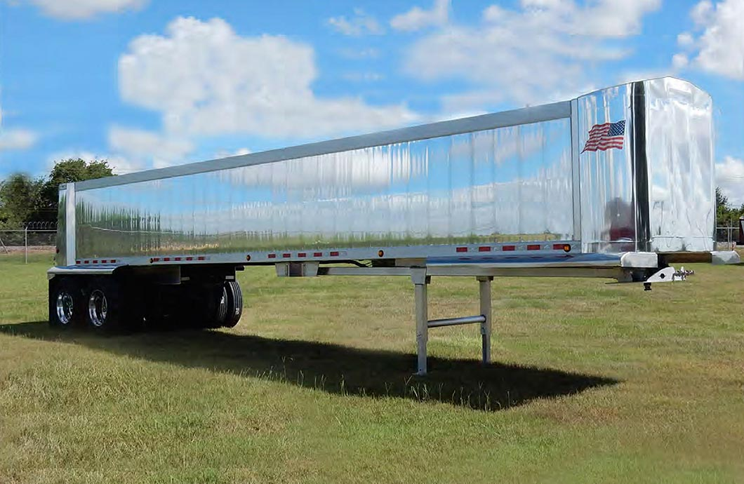 Vantage Trailers Vertical Panel Smooth Side (VPSS) Double Wall End Dump Trailer
