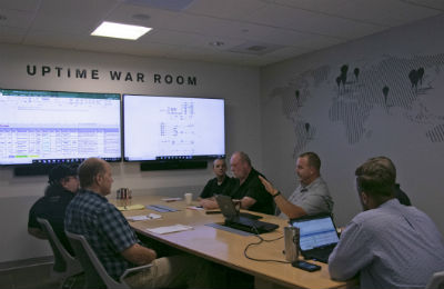 Volvo Active Care Direct war room